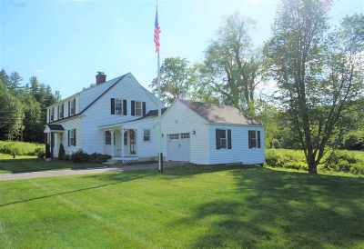 New Boston Single Family Home For Sale: 90 Mont Vernon Road