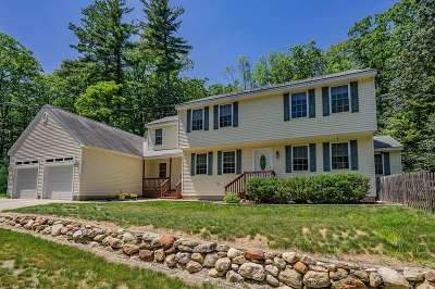 Goffstown Single Family Home Active Under Contract: 11 Addison Road