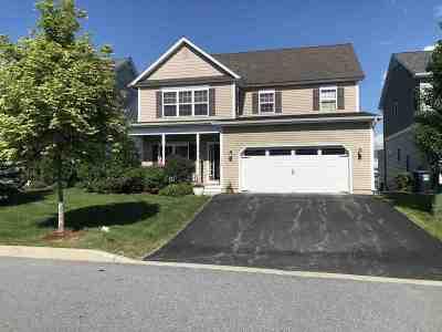 South Burlington Single Family Home For Sale: 198 Braeburn Street