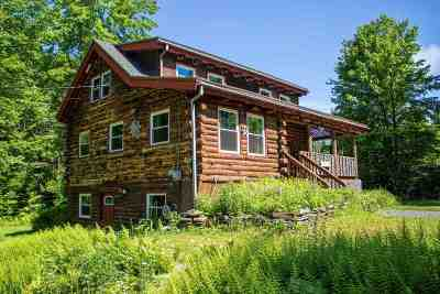 East Montpelier Single Family Home Active Under Contract: 405 Haggett Road