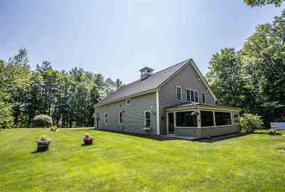 Merrimack County Single Family Home For Sale: 810 Putney Hill Road