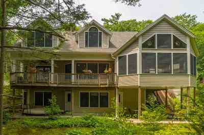 Strafford County Single Family Home For Sale: 46 Mendums Landing Road