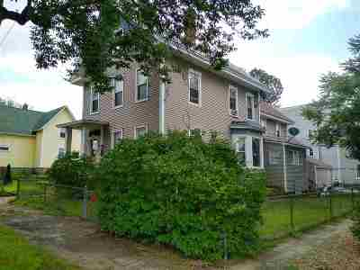 Manchester Multi Family Home For Sale: 143 Myrtle Street
