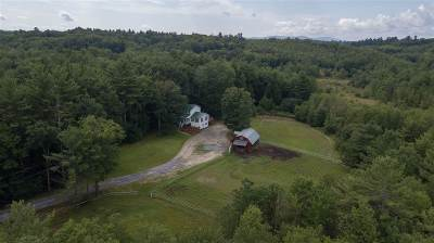 Weare Single Family Home For Sale: 367 Dustin Tavern Road