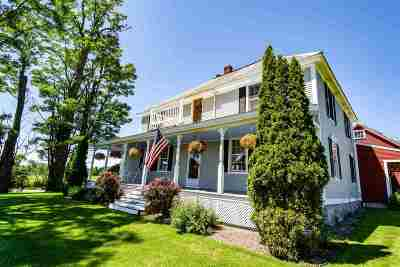 Essex Single Family Home For Sale: 140 Old Stage Road