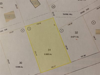 Carroll County Residential Lots & Land For Sale: 4 Thornhill Road
