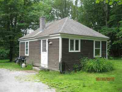 Merrimack County Single Family Home For Sale: 284 Rush Road Road #284