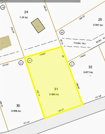 Carroll County Residential Lots & Land For Sale: Lot 31 Province Lake Road