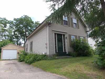 Laconia Single Family Home For Sale: 33 Dartmouth Street