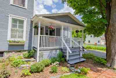 Waterbury Single Family Home For Sale: 89 Stowe Street