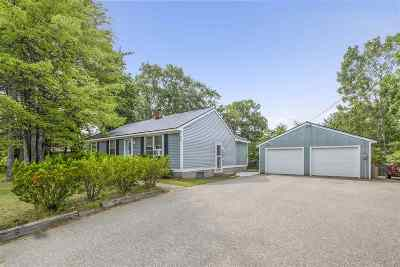 Merrimack County Single Family Home For Sale: 54 Webster Lake Road