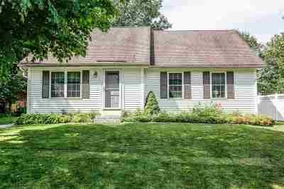 Merrimack County Single Family Home For Sale: 9 Bentwood Street