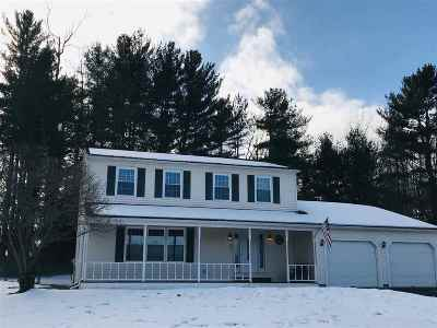 Colchester Single Family Home For Sale: 93 North Harbor Road