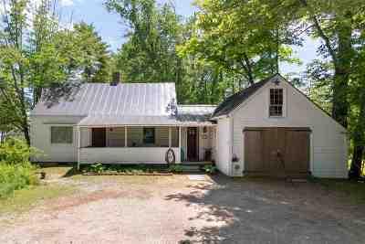 Moultonborough Single Family Home For Sale: 12 Lake Shore Drive