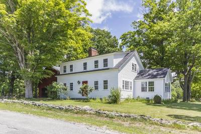 Francestown Single Family Home Active Under Contract: 685 Dodge Hill Road