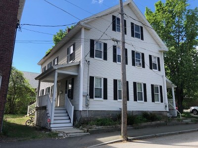 Concord Multi Family Home Active Under Contract: 5-7 Pearl Street