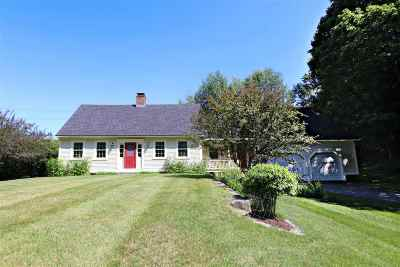 Barnet Single Family Home Active Under Contract: 282 Keyser Hill Road