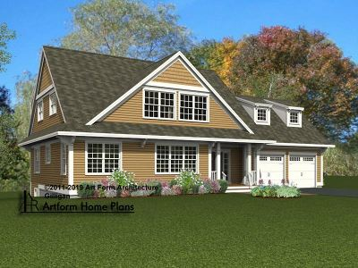Dover Single Family Home For Sale: Lot 16 Garrison Cove #16