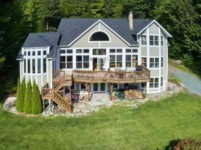 Barnet Single Family Home For Sale: 1271 Harvey Mountain Road