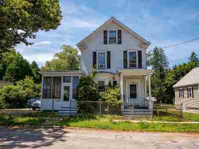 Dover Single Family Home For Sale: 34 Mount Vernon Street