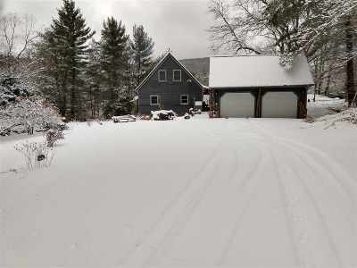 Waterville Single Family Home For Sale: 3010 Vermont 109 Route