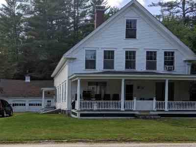 Rumney Single Family Home For Sale: 459 Main St.
