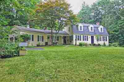 Amherst Single Family Home Active Under Contract: 11 Blueberry Hill Road