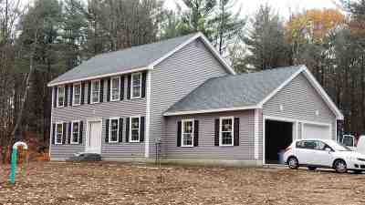 Weare Single Family Home For Sale: 168.1 Shady Hill Road