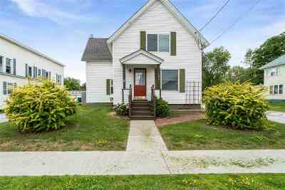 St. Albans City Single Family Home For Sale: 295 Lake Street