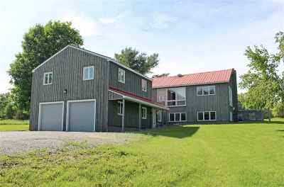 Grand Isle Single Family Home Active Under Contract: 59 Town Line Road