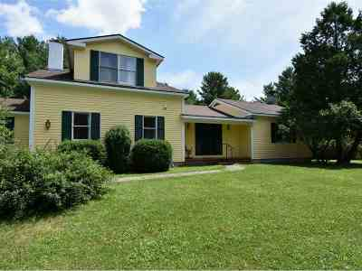 Middlebury Single Family Home For Sale: 169 Painter Hills Road