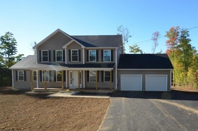 Hooksett Single Family Home For Sale: Lot 3-1 Walnut Hill Drive