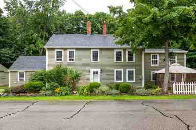 Milford Single Family Home For Sale: 95 Souhegan Street