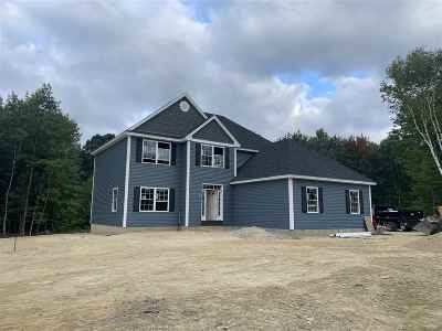 Hooksett Single Family Home For Sale: Lot 2 Walnut Hill Drive