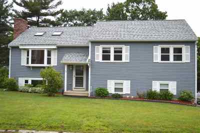 Nashua Single Family Home Active Under Contract: 32 Spindlewick Drive
