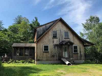 Alexandria NH Single Family Home Active Under Contract: $214,900