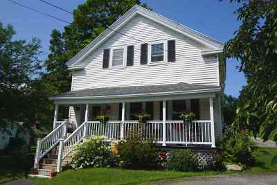 Pittsford Single Family Home Active Under Contract: 3478 U. S. Route 7