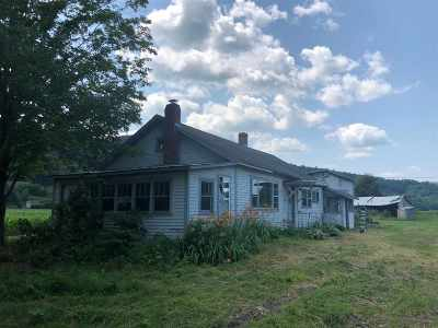 Middlesex Single Family Home For Sale: 565 Us Rt 2 Route