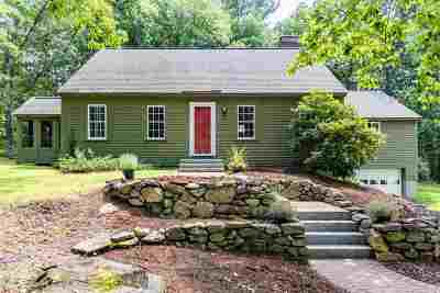 Amherst Single Family Home Active Under Contract: 12 North Meadow Road