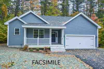 Wolfeboro Single Family Home For Sale: 112 Cedar Drive