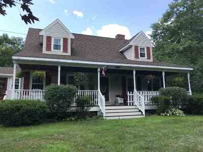 Belmont Single Family Home For Sale: 158 Brown Hill Road