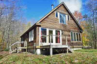 Chittenden Single Family Home For Sale: 182 Dam Road