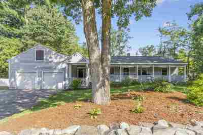 Merrimack Single Family Home Active Under Contract: 189 Naticook Road
