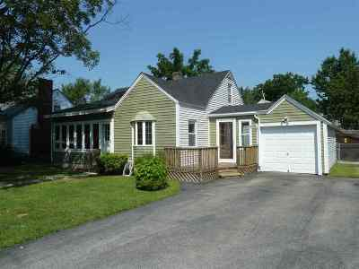 Manchester Single Family Home Active Under Contract: 219 Goffstown Road