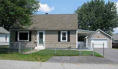 Nashua Single Family Home Active Under Contract: 100 Linwood Street