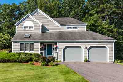 Nashua Single Family Home Active Under Contract: 96 Ledgewood Hills Drive