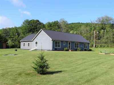 Thetford Single Family Home Active Under Contract: 43 Colby Road North