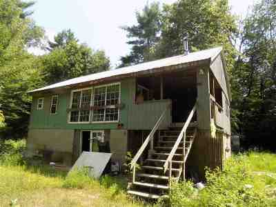 Conway Single Family Home For Sale: 66 E Road