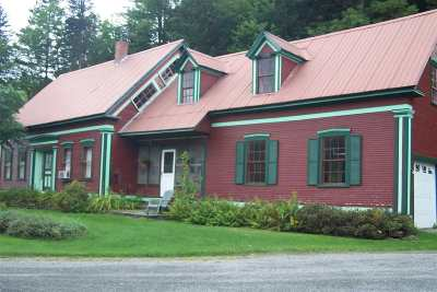 Hardwick Single Family Home For Sale: 2259 Craftsbury Road
