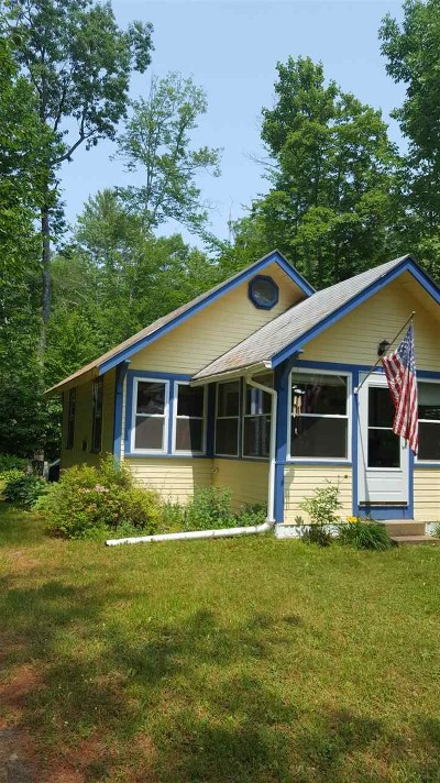 Barnstead Single Family Home For Sale: 7 Lake Shore Drive